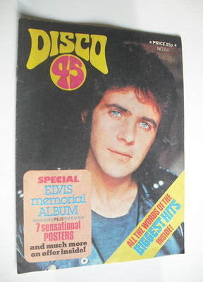 <!--1977-10-->Disco 45 magazine - No 84 - October 1977 - David Essex cover