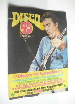 Disco 45 magazine - No 87 - January 1978