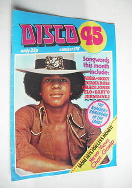 <!--1980-08-->Disco 45 magazine - No 118 - August 1980