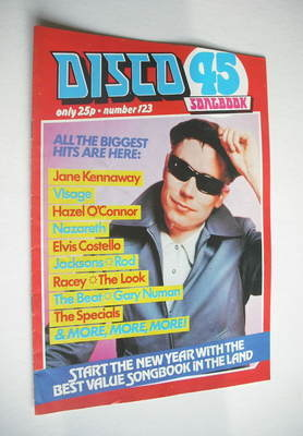 <!--1981-01-->Disco 45 magazine - No 123 - January 1981