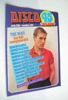 Disco 45 magazine - No 125 - March 1981