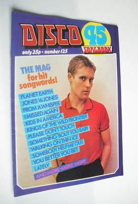 <!--1981-03-->Disco 45 magazine - No 125 - March 1981