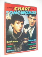 Chart Songwords magazine - No 35 - December 1981 - Soft Cell cover