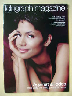 <!--2002-05-25-->Telegraph magazine - Halle Berry cover (25 May 2002)