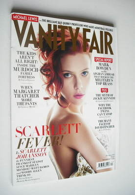 <!--2011-12-->Vanity Fair magazine - Scarlett Johansson cover (December 201