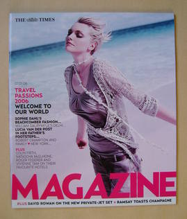 <!--2006-01-07-->The Times magazine - Sophie Dahl cover (7 January 2006)