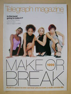 <!--1998-12-26-->Telegraph magazine - Make or Break 1999 cover (26 December