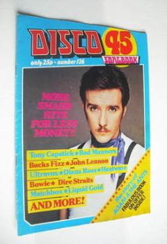 Disco 45 magazine - No 126 - April 1981 - Midge Ure cover