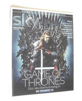 Sky TV magazine - April 2011 - Sean Bean cover