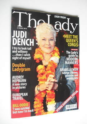 <!--2012-03-02-->The Lady magazine (2 March 2012 - Judi Dench cover)