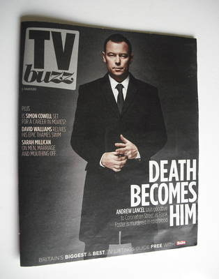 TV Buzz magazine - Andrew Lancel cover (3 March 2012)