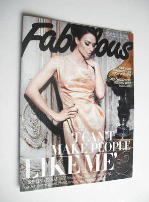 <!--2012-03-04-->Fabulous magazine - Christine Bleakley cover (4 March 2012