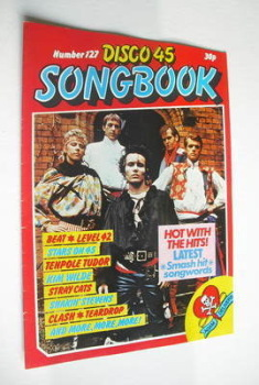 Disco 45 magazine - No 127 - May 1981 - Adam And The Ants cover