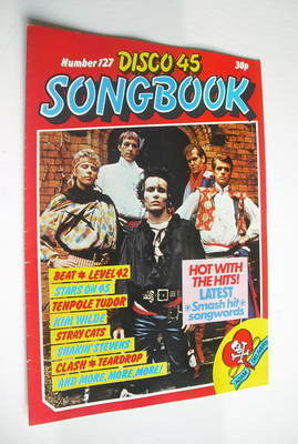 <!--1981-05-->Disco 45 magazine - No 127 - May 1981 - Adam And The Ants cov