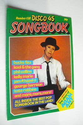 <!--1981-06-->Disco 45 magazine - No 128 - June 1981 - Hazel O'Connor cover