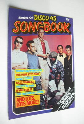 <!--1981-07-->Disco 45 magazine - No 129 - July 1981 - The Specials cover