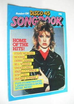 Disco 45 magazine - No 130 - August 1981 - Kim Wilde cover