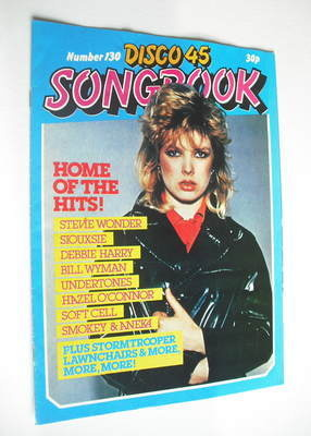 <!--1981-08-->Disco 45 magazine - No 130 - August 1981 - Kim Wilde cover