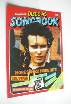 Disco 45 magazine - No 131 - September 1981 - Adam Ant cover
