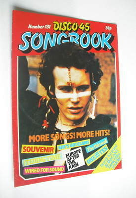 <!--1981-09-->Disco 45 magazine - No 131 - September 1981 - Adam Ant cover