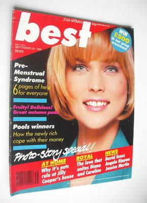 <!--1989-09-29-->Best magazine - 29 September 1989