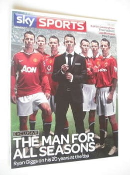Sky Sports magazine - February/March 2011 - Ryan Giggs cover