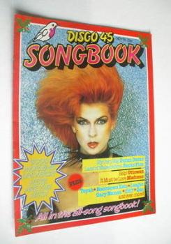 Disco 45 magazine - No 134 - December 1981 - Toyah cover