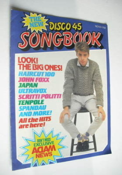 Disco 45 magazine - No 133 - November 1981 - Nick Heywood cover
