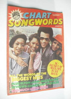 Chart Songwords magazine - No 1 - February 1979 - Boney M cover