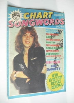 Chart Songwords magazine - No 2 - March 1979 - Leif Garrett cover