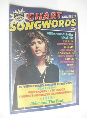 Chart Songwords magazine - No 13 - February 1980