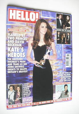 <!--2012-01-02-->Hello! magazine - Kate Middleton cover (2 January 2012 - I