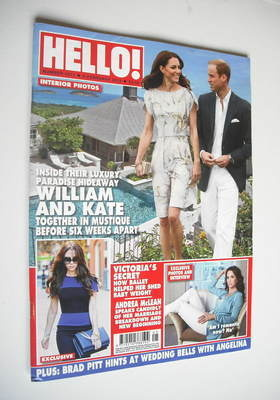 <!--2012-02-06-->Hello! magazine - Prince William and Kate Middleton cover