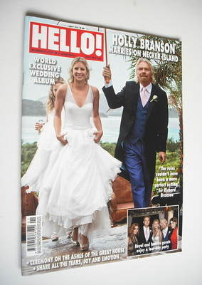 <!--2012-01-09-->Hello! magazine - Holly Branson and Sir Richard Branson co