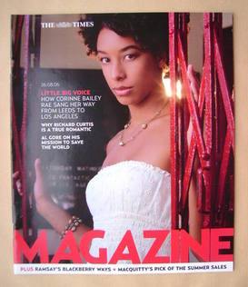 <!--2006-08-26-->The Times magazine - Corinne Bailey Rae cover (26 August 2
