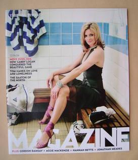 <!--2004-06-12-->The Times magazine - Gabby Logan cover (12 June 2004)