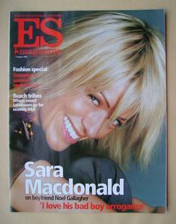 <!--2002-08-02-->Evening Standard magazine - Sara Macdonald cover (2 August