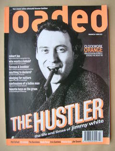 Loaded magazine - Jimmy White cover (March 1995)
