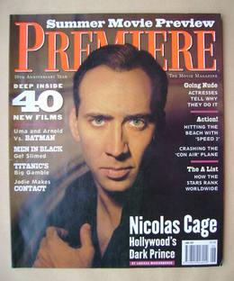 Premiere magazine - Nicolas Cage cover (June 1997)