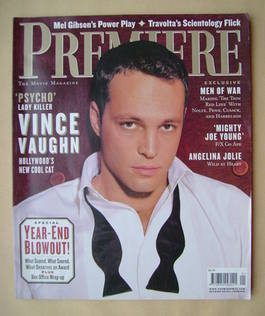 Premiere magazine - Vince Vaughn cover (January 1999)