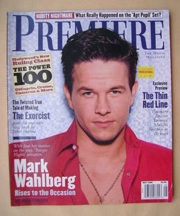 Premiere magazine - Mark Wahlberg cover (May 1998)