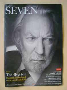 Seven magazine - Donald Sutherland cover (11 March 2012)