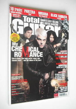 Total Guitar magazine - My Chemical Romance cover (November 2006)
