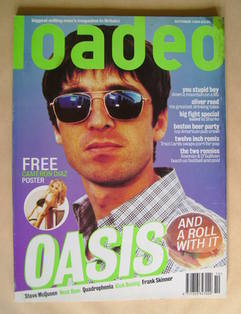 Loaded magazine - Noel Gallagher cover (October 1995)