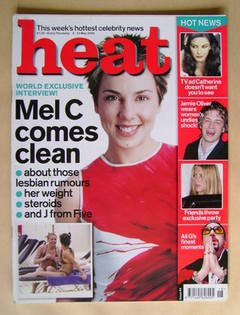 Heat magazine - Mel C cover (4-12 May 2000 - Issue 64)
