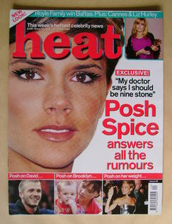 <!--2000-05-20-->Heat magazine - Victoria Beckham cover (20-26 May 2000 - I