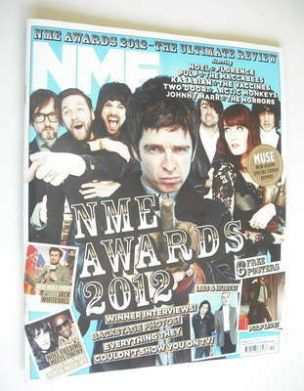 <!--2012-03-10-->NME magazine - NME Awards 2012 cover (10 March 2012)