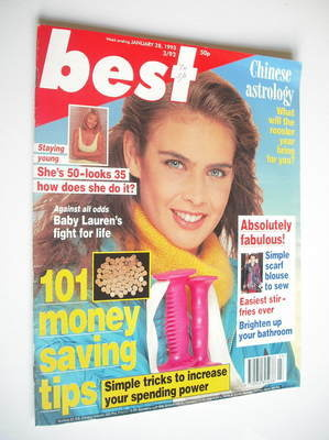 <!--1993-01-28-->Best magazine - 28 January 1993