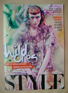 <!--2012-03-11-->Style magazine - Wild Ones cover (11 March 2012)
