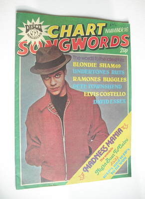 Chart Songwords magazine - No 16 - May 1980